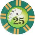 Набор для покера Holdem Light (Poker Chips) на 100 фишек с номиналом