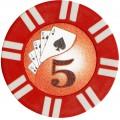 Набор для покера Royal Flush на 100 фишек