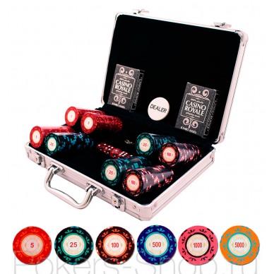 Набор для покера Casino Royale на 200 фишек Premium