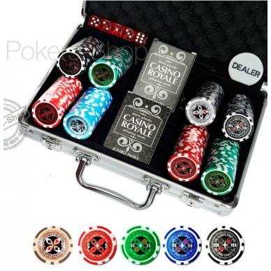 Набор для покера Ultimate на 200 фишек Prem