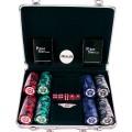 Набор для покера Black Star на 200 фишек Premium