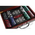 Набор для покера Black Stars LUX