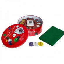 Набор для покера HOLDEM LIGHT (Poker Chips) на 240 фишек с номиналом