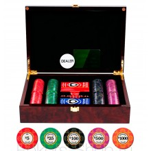 Набор для покера LUX на 200 фишек
