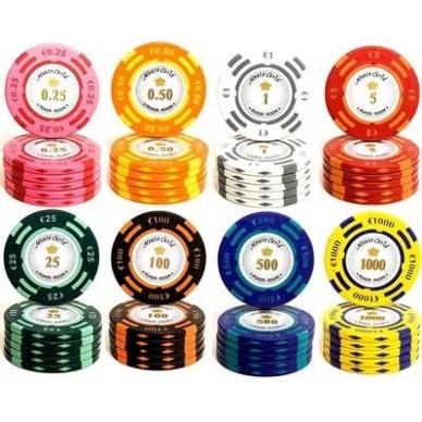 Набор для покера Monte Carlo на 300 фишек Premium