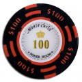 Набор для покера Monte Carlo на 500 фишек в стальном кейсе Premium