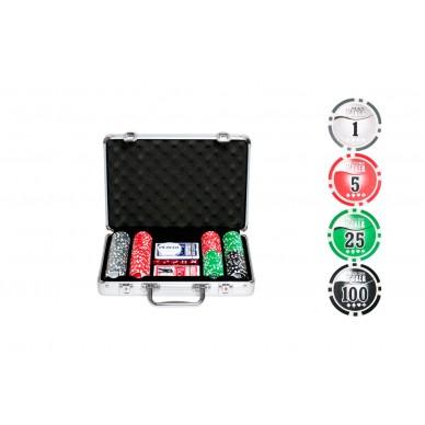 Набор для покера NUTS+ на 200 фишек Premium