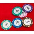 Набор для покера Vegas на 200 фишек в стальном кейсе Premium
