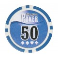 Набор для покера Leather Black на 300 фишек Lite