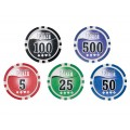 Набор для покера Leather Brown на 300 фишек Premium