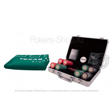 Набор для покера Luxury Ceramic на 200 фишек Lite