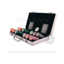 Набор для покера Luxury Ceramic на 300 фишек Lite