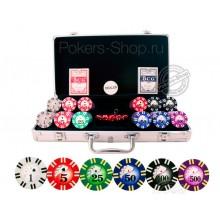 Набор для покера Royal Flush на 300 фишек