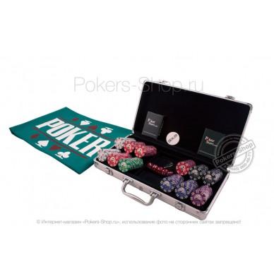 Набор для покера Royal Flush Premium на 300 фишек Lite