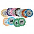 Набор для покера Las Vegas 300, фишки 14 грамм Premium