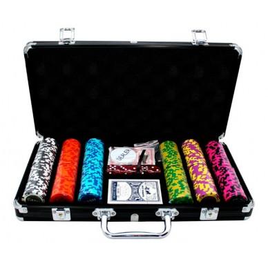 Набор для покера Cash 300, фишки 14 грамм