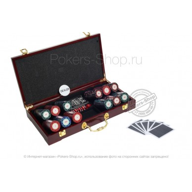Набор для покера Casino Royale LUX на 300 фишек