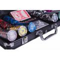 Набор для покера (Покерный набор) Frost на 300 фишек в алюминиевом кейсе