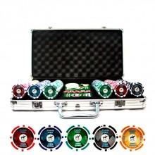 Набор для покера на 300 фишек Pro Poker Piatnik