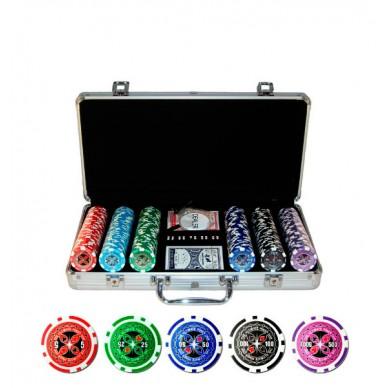 Набор для покера Ultimate на 300 фишек Lite