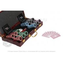 Набор для покера Ultimate LUX на 300 фишек