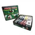 Набор для покера (Покерный набор) Holdem Light на 500 фишек с номиналом Lite