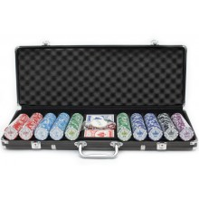 Набор для покера Imperia 500, фишки 11,5 грамм Lite