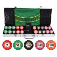 Профессиональный набор для покера Luxury Ceramic на 500 фишек(Турнирный!)