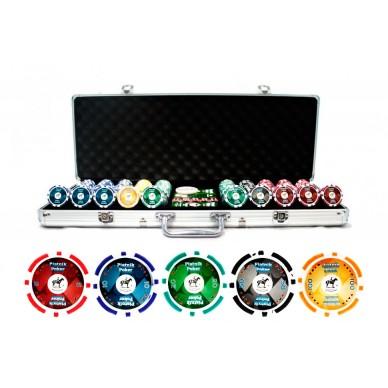 Набор для покера на 500 фишек Pro Poker Piatnik