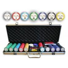 Набор для покера Valentino 500 с керамическими фишками