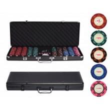 Набор для покера Casino Royale на 500 фишек Ultra + Большое сукно 90x180