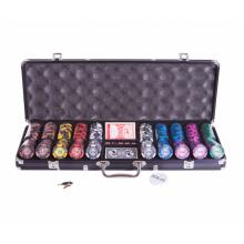 Набор для покера (Покерный набор) Frost на 500 фишек в алюминиевом кейсе