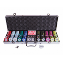 Набор для покера (Покерный набор) Le Royale на 500 фишек в алюминиевом кейсе