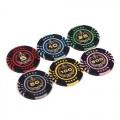 Набор для покера (Покерный набор) Lux на 500 фишек в алюминиевом кейсе