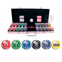Набор для покера NUTS+ на 500 фишек Lite