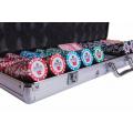 Набор для покера (Покерный набор) Premium Crown на 500 фишек в алюминиевом кейсе