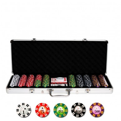 Набор для покера Royal Flush на 500 фишек Lite