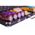 Набор для покера (Покерный набор) Tournament на 500 фишек в алюминиевом кейсе