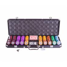 Набор для покера (Покерный набор) Tournament на 500 фишек в алюминиевом кейсе Lite