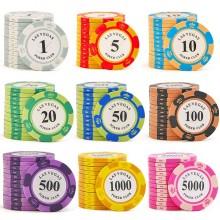 Профессиональный покерный набор на 500 фишек Las Vegas Premum