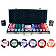 Наборы для покера World Poker Tour на 500 фишек с номиналом Premium