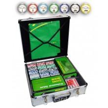 Набор для покера из 600 керамических фишек