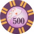Набор для игры в покер и блэк-джек Royal Flush на 600 фишек