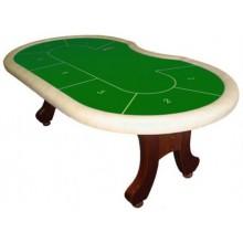 Стол для покера «Action GB» (Green/White)