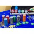 Сукно для покера из немецкого бархата ( синие )