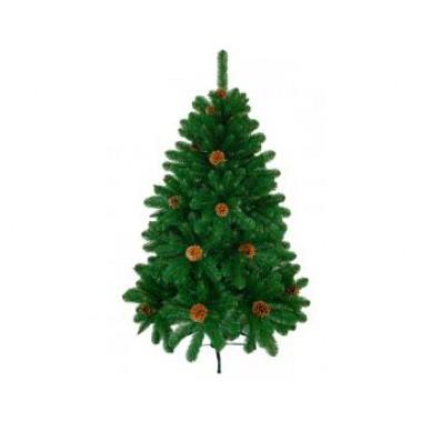Искусственная елка ИМПЕРАТОРСКАЯ с шишками 1,5м