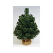 Искусственная елка НАСТОЛЬНАЯ зеленая в мешке