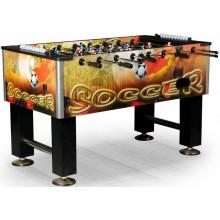 Настольный футбол (кикер) «Roma II» (140x76x87 см, цветной)