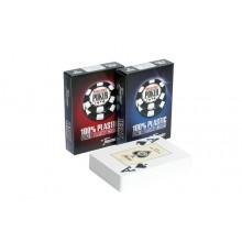 """Карты для покера """"Fournier Wsop"""" 100% пластик, Испания"""