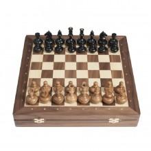 Шахматы сенеж орех